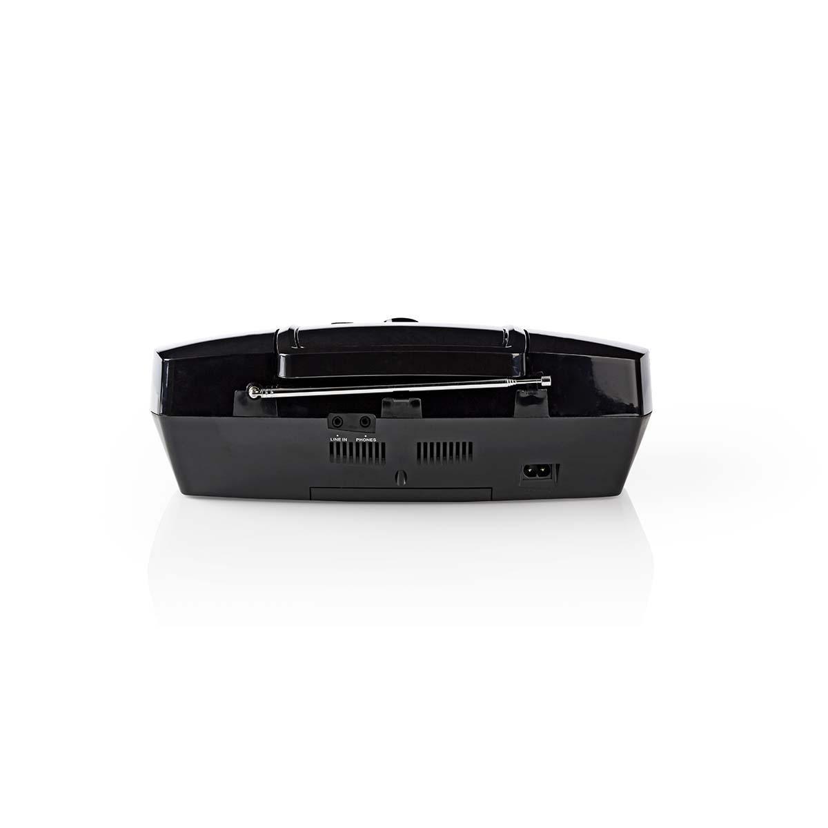 Boombox 12 W Bluetooth® CD-speler / FM-Radio / USB / AUX