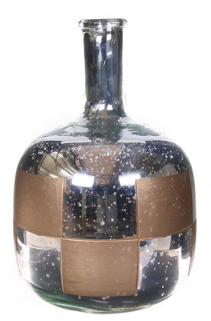 Bottle glas Oxidise Alan gold