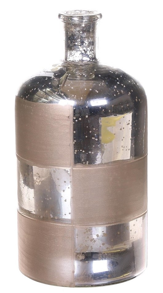 Bottle Riec glas Oxidise gold in 2 afmetingen