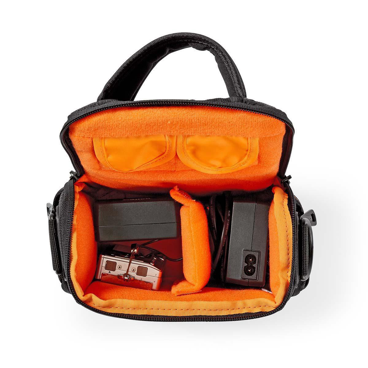 Camera-schoudertas152 x 146 x 65 mm 2 binnenvakken