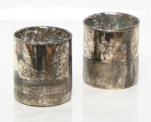 Cilinder Oxidise black 9 cm MAR10