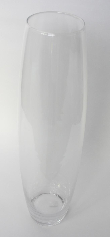 Cilinder vaas buik model Ø 19 cm en hoogte 70 cm