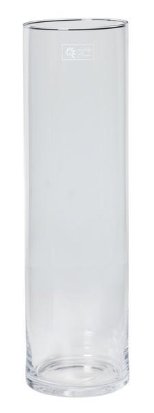 Cilinder vaas glas Ø 15 cm met een hoogte van 50 cm