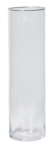 Cilinder vaas glas Ø 16 cm met een hoogte van 50 cm