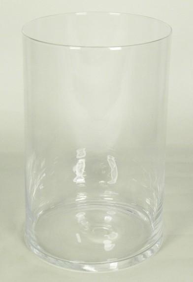 Cilinder vaas glas Ø 19 cm met een hoogte van 30 cm