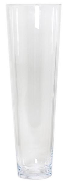 Cilinder vaas glas konisch Ø 17,5 cm en hoogte 60 cm
