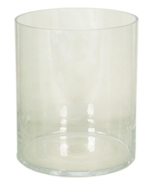 Cilinder vaas heavy glas Ø 28 cm met een hoogte van 37 cm