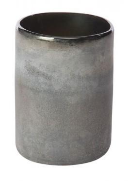 Cilinder van glas Astorp inkt blauw heavy glas