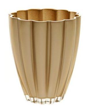 Glaspot Bloom goud