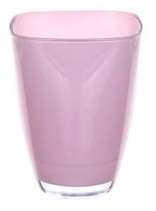Glaspot gekleurd light pink heavy glas