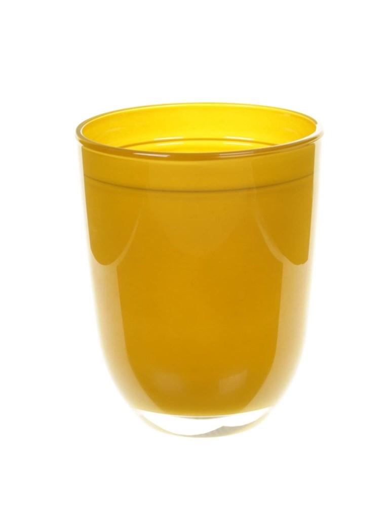 Glaspot Kentucky in meerdere kleuren heavy glas