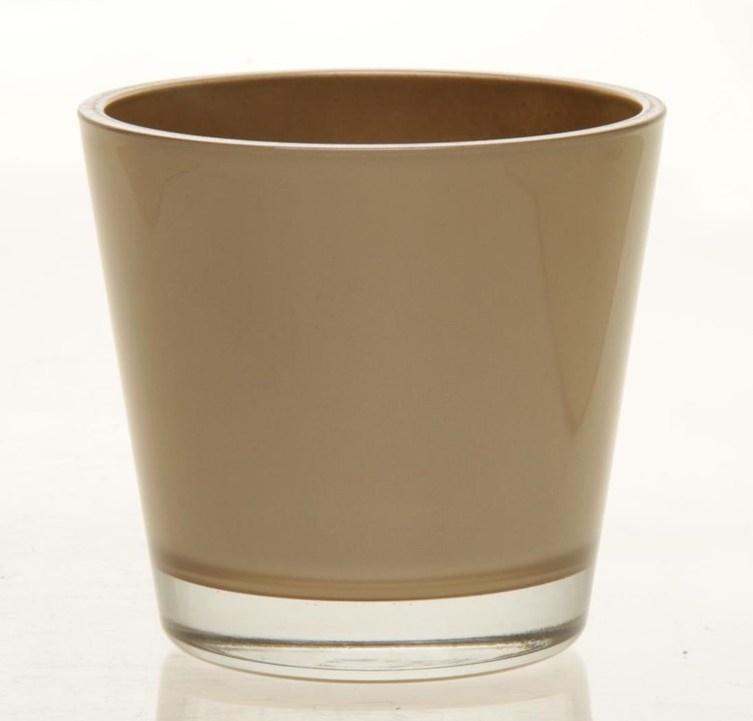 Glaspot Max goud heavy glas