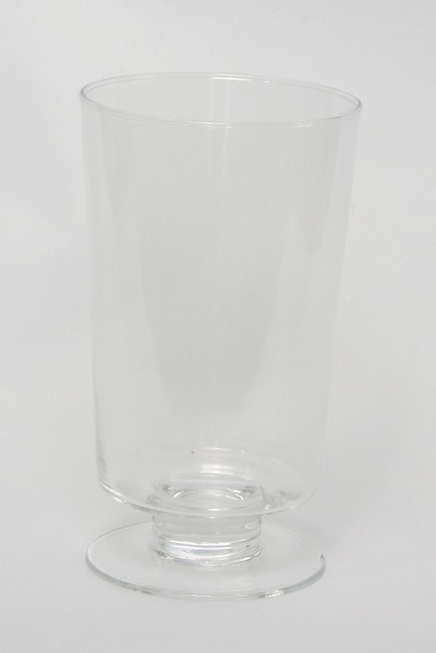 Glazen vaas op voet Smart
