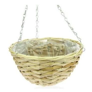 Hanging basket corn leaf naturel 35 cm