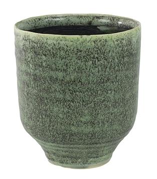 Keramieken bloempot Fenna thyme cement
