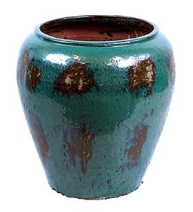 Keramieken bloempot Mystic Blue Ø 58 cm