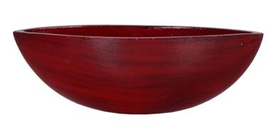 Keramieken boot Cresta rood