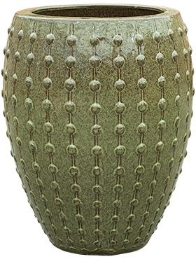 Keramieken plantenbak Laos Emperor groen