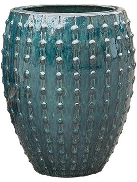 Keramieken plantenbak Laos Emperor oceaan blauw