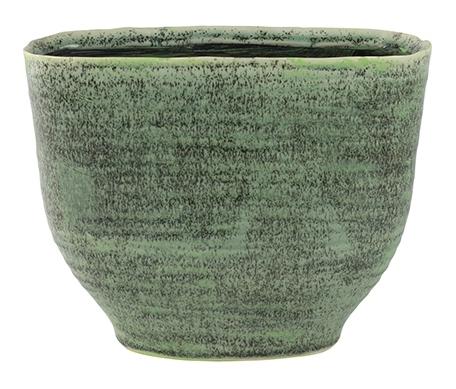 Keramieken plantenschaal Fenna thyme cement