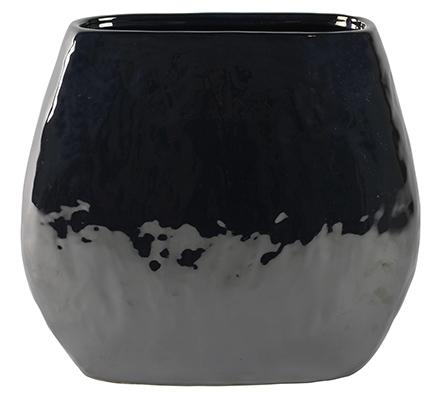 Keramieken plantenschaal Lieke pearl black 29 cm