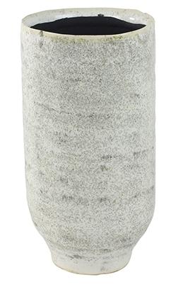 Keramieken pot Fenna off white cement