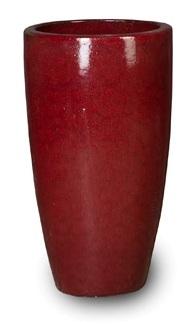 Keramieken vaas Classic Red Partner 60 cm