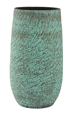 Keramieken vaas Evi antique brons 68 cm