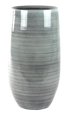 Keramieken vaas hoog Cresta ice blue 50 cm
