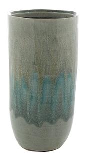 Keramieken Vaas Lara licht blauw 25 cm