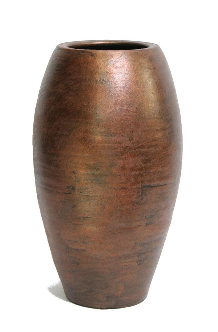 Keramieken vaas Palma roest