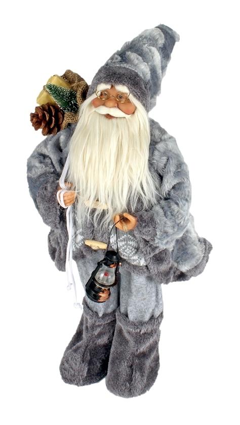 Kerstman met een hoogte van 30 cm in twee uitvoeringen