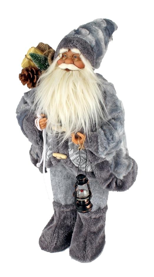 Kerstman met een hoogte van 60 cm in twee uitvoeringen