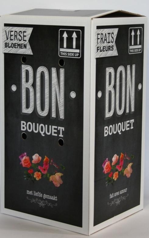 Kunstbloemen Boeket Soft Pastels lengte 45 cm
