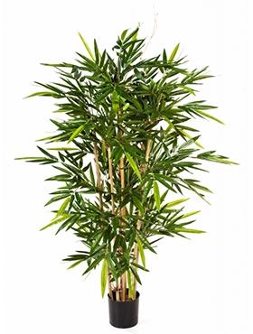 Kunstplant Bamboe toef 120 cm