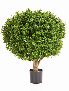 Kunstplant Buxus kogel 70 cm op stam