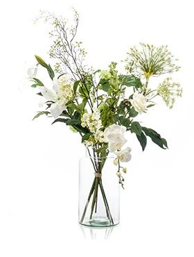 Kuntsbloemen boeket XL Shine 90 cm