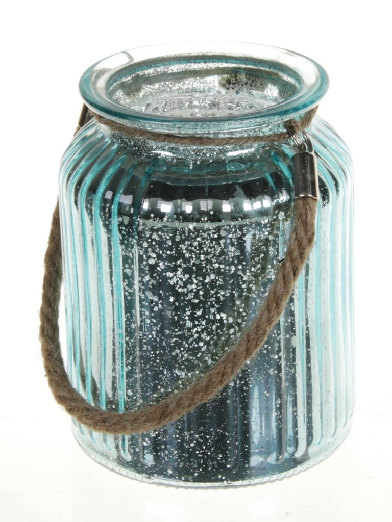 Lantaarn van glas Jinni in diverse kleuren