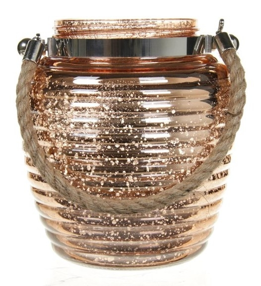 Lantaarn van glas Josh 17,5 cm