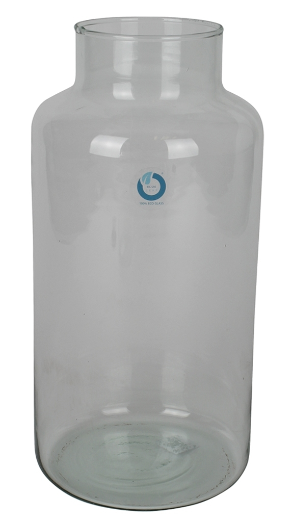 Melkbus glas 35 cm hoog