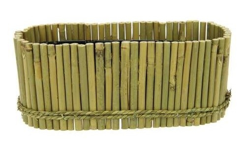 Ovale Bamboe schaal