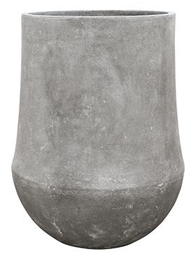 Plantenbak Darcy Raw grey M polystone coated