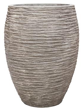 Plantenbak Digon Raw grey polystone coated