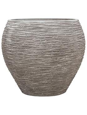 Plantenbak Dolcie Raw grey S polystone coated