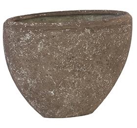 Plantenbak Polystone Rock Ovaal Plain in 3 afmetingen