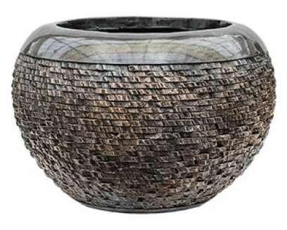Plantenbak Universe Layer globe bronze 45 cm Luxe Lite