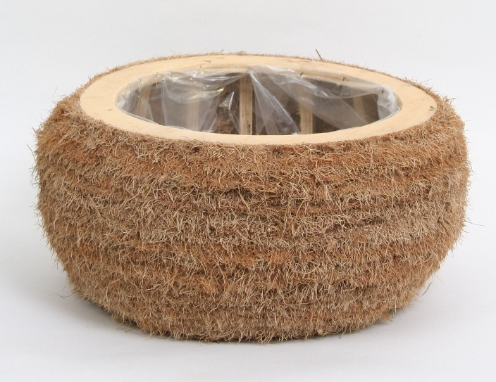 Plantenschaal Cocos rond groot
