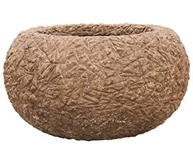 Plantenschaal Kamelle Rock M polystone coated