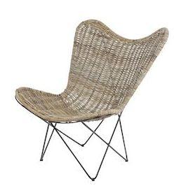 Rotan stoel Pinola