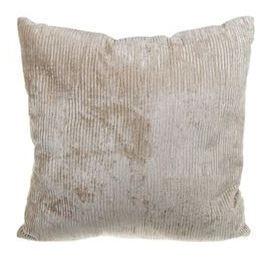 Sierkussen Juvigny beige van stof 45 cm MAR10